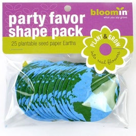 Plantable Seed Paper Earths