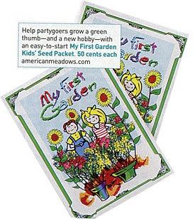 My First Garden Packet