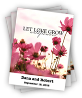 Personalized Let Love Grow Packets