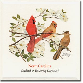 North  Carolina State Flower and Bird