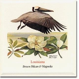 Louisiana  State Flower and Bird