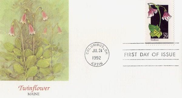 Maine State Flower and Bird