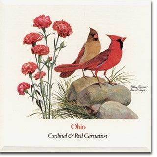 Ohio State  Flower and Bird