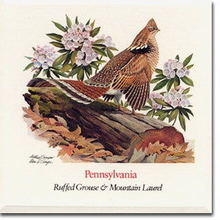 pennsylvania state flower and bird