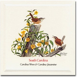 South  Carolina State  Flower and Bird