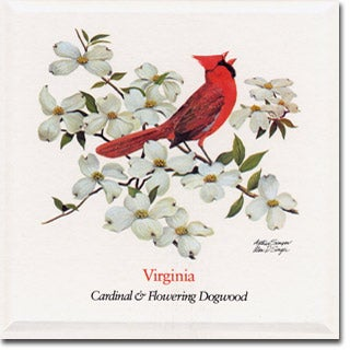 Virginia  State Flower and Bird