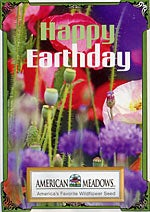 Earthday Seed Packet