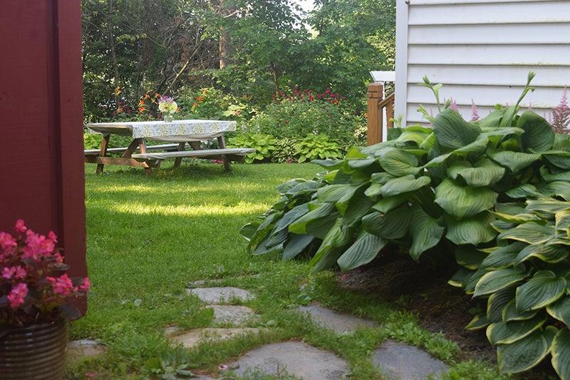 A Well Designed Shade Garden