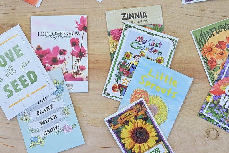 Diy Garden Gifts: Seed Packets