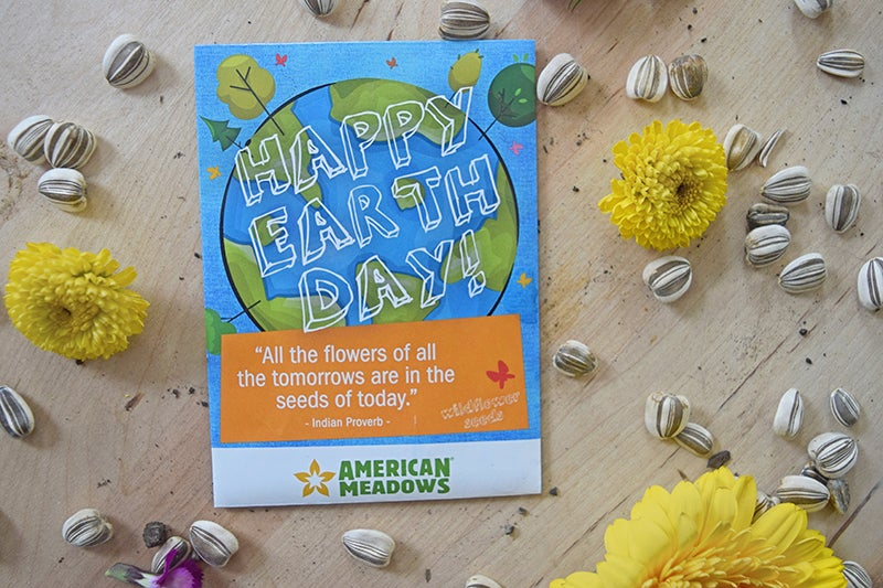 Earth Day Projects - Seed Packet