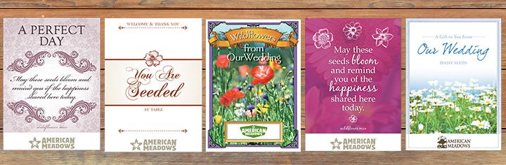 Wedding Seed Packets