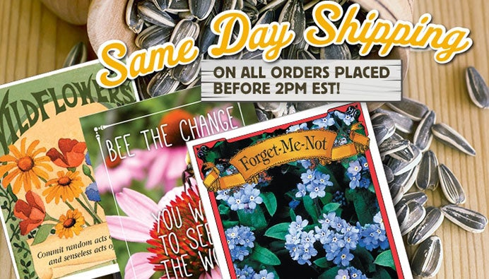 Same Day Shipping on All Orders Placed Before 2PM EST!