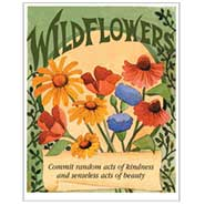 Favor Sized Wildflower Mix Seed Packet