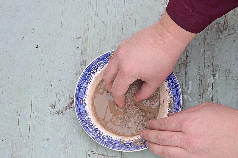 mixing seeds