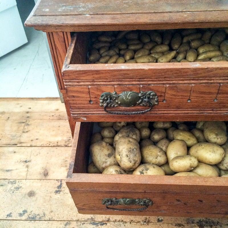 creative potato storage