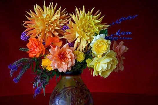 Dahlia Bouquet Photo by Don Paulson.
