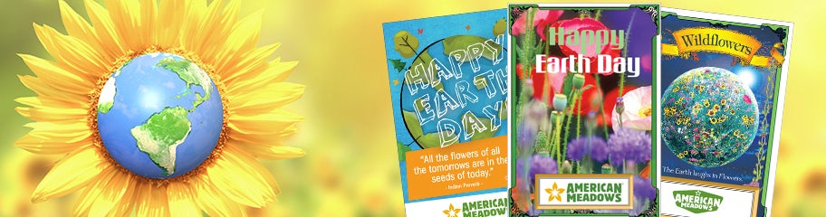 Earth day seed packets american meadows earth day packets yelopaper Image collections