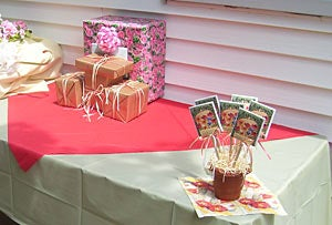 flower seed packets baby shower