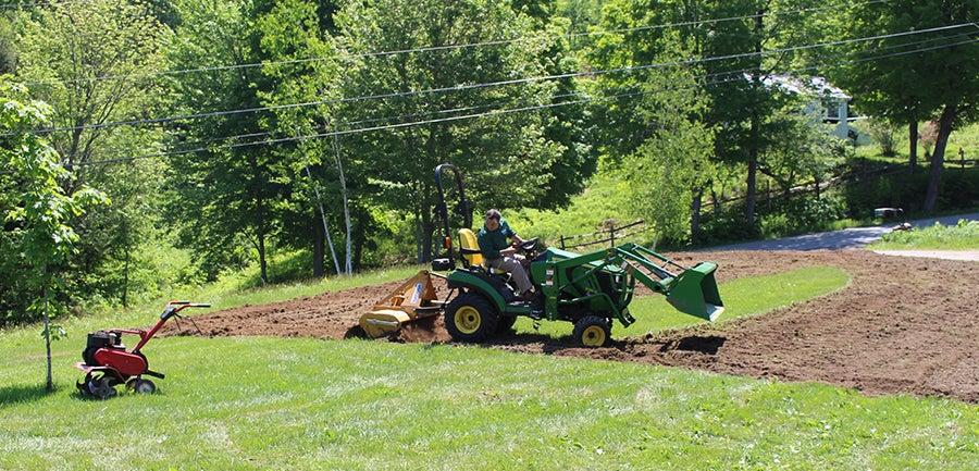 The Seedman preparing the Soil for Wildflowers